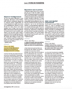 Louise B, magazine Véro